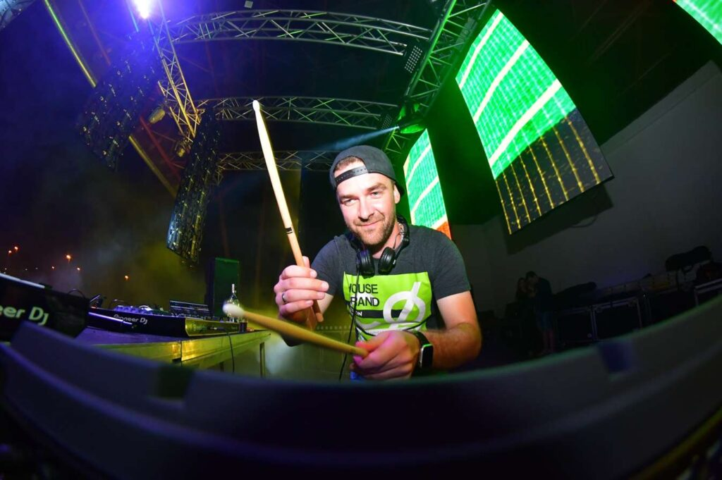 EDM Open Air Festival Skalky - Nový Jičín - DJ Wojki
